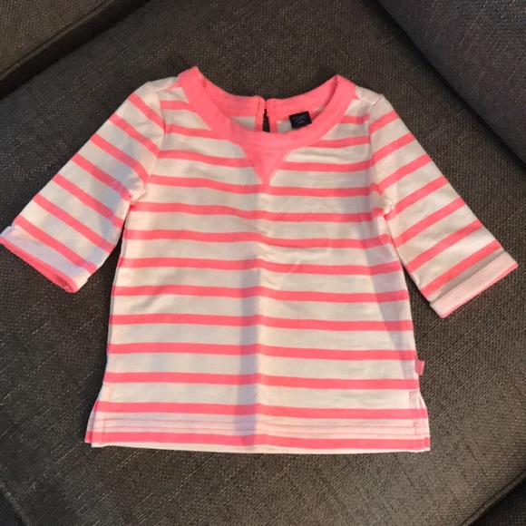 NWT Toddler Boys size 3T Stripe long sleeve t-shirt by Baby Gap